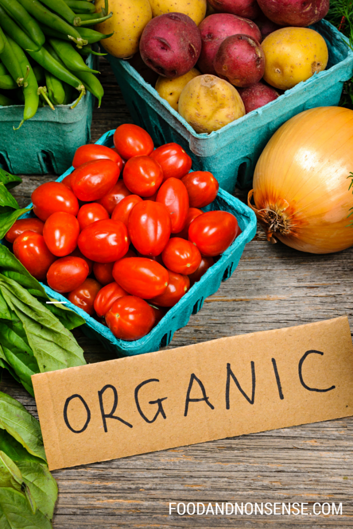 Examples Of Organic And Natural Foods